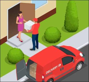 Food delivery for diet meals